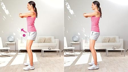 Inclinación de cadera: Ejercicio para estirar la zona de la ingle y los flexores de cadera - Inclinación de cadera: Ejercicio para estirar la zona de la ingle y los flexores de cadera