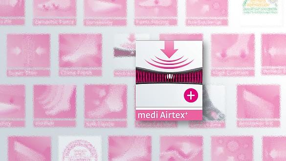 medi Airtex⁺ - Muy agradable de usar - medi Airtex⁺ - Muy agradable de usar